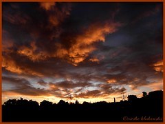 - Jerusalem at sunrise (moshek70) Tags: sunset sky weather clouds sunrise israel jerusalem   cirrocumulus cirrus