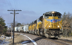 Pleasantly Happy... (Philip_Martin) Tags: up wisconsin adams pacific sub union line wi sbdivision