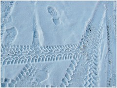 Patterns on snow (libre*) Tags: winter snow cold patterns mygearandme mygearandmepremium mygearandmebronze rememberthatmomentlevel1