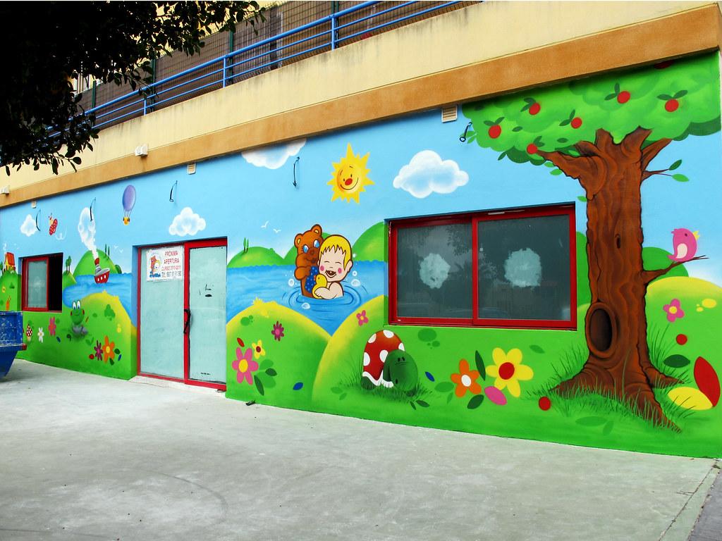 The world 39 s best photos of decorarespacios flickr hive mind - Murales infantiles ...