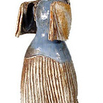 "<b>Woman with Shawl</b><br/> Marguerite Wildenhain (1896-1985) ""Woman with Shawl"" Ceramic, ca. 1960's LFAC #2002:04:14<a href=""http://farm8.static.flickr.com/7024/6831797587_4d5def6843_o.jpg"" title=""High res"">∝</a>"