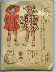 1930's pattern-doll clothes