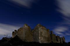 enchanted Castle (raul_lg) Tags: sky castle canon stars spain murcia cielo nubes estrellas nocturna castillo largaexposicion monteagudo fortificacion raullg castillejodemonteagudo