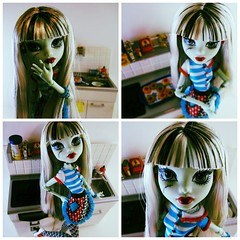 Taste Test (DollyPop!) Tags: kitchen monster doll frankie rement fashiondoll mattel poseable frankiestein monsterhigh watzit homeick