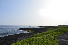 Punaluu beach park (keiko.com) Tags: sky hawaii coast nikon day  bigisland gettyimages blacksandbeach hawaiiisland punaluubeachpark d7000