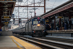 Amtrak Northeast Regional train 130 (4) (MIDEXJET (Thank you for over 2 million views!)) Tags: unitedstatesofamerica amtrak delaware wilmington nec northeastcorridor aem7 wilmingtondelaware northeastregional amtk936 amtk914