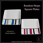 "Random Stripe Plates <a style=""margin-left:10px; font-size:0.8em;"" href=""http://www.flickr.com/photos/94066595@N05/13690970254/"" target=""_blank"">@flickr</a>"