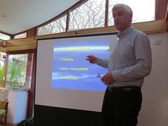 Dr John Steyn at Edinburgh Maggie's Meeting April 10th