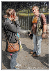 SAM (Derek Hyamson) Tags: girl photographer sam candid hdr beginner wirral birkenheadpark