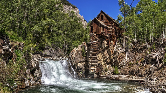 old trees summer house mill beautiful river log cabin colorado rocks power sony bank rapids western marble crystalmill