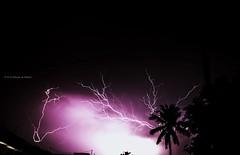 Fury of Nature (aravindashok) Tags: cloud storm nature rain night fire astro lightning thunder fury bold