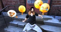 emoji (aarontj90) Tags: beard mom cool mesh jesus joy hipster longhair sl secondlife nomad poo smirk kissy excellence emoji bttb slfashion since1975 kustom9 menonlymonthly boystothebone
