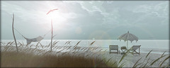 [the cure for anything is salt water - sweat, tears or the sea  ] (Charlie Namiboo) Tags: ocean sea summer sun beach water salt secondlife lavie charlienamiboo
