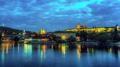 PRAGUE LESSER TOWN AND CASTLE (Robert Schller) Tags: prague hradschin moldau kleinseite