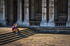 Pausing Briefly (James Neeley) Tags: london greenwich jamesneeley
