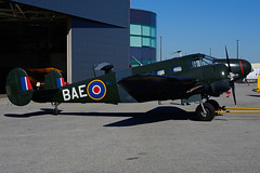 C-GZCE (BAE) (Steelhead 2010) Tags: beechcraft bae b18 canadianwarplaneheritagemuseum yhm creg cwhm cgzce