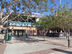 First Base Entrance at Scottsdale Stadium -- Scottsdale, AZ, March 08, 2016 (baseballoogie) Tags: arizona baseball stadium az giants scottsdale ballpark springtraining sanfranciscogiants cactusleague baseballpark scottsdalestadium 030816 canonpowershotsx30is baseball16