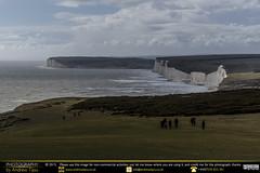 Sisters' Cliff Top View (andrewtijou) Tags: uk england storm sussex europe waves unitedkingdom gale cliffs sevensisters beachyhead birlinggap crashingwaves roughseas andrewtijounikond7000