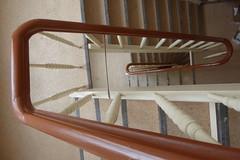 a stare case (erix!) Tags: stairs steps treppe staircase banister stufen treppenhaus gelnder treppenstufen starecase