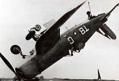 A Corsair plane used by the Allied forces momentarily upside down as it crash-lands 1945. [962X653] #HistoryPorn #history #retro http://ift.tt/27UyxCS (Histolines) Tags: history by plane down it retro used corsair timeline 1945 upside forces allied vinatage a momentarily historyporn crashlands histolines 962x653 httpifttt27uyxcs