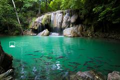 Erawan Waterfall (snksinicksink192) Tags: landscape thailand waterfall nationalpark kanchanaburi erawan traveler traval