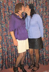 Julie & Me (MarcieGurl) Tags: sisters tv cd tgirl transgender erie ts gurl crodresser lakeeriegala