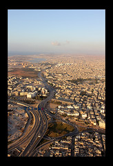 Benghazi from the plane ( [ Libya Photographer ]) Tags: from plane    benghazi