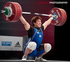 KIM Min-Jae KOR 94kg (Rob Macklem) Tags: kim olympic weightlifting minjae kor 94kg