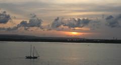 Balinese sunset (Steve Attwood) Tags: cruise light sunset sea sky bali cloud seascape canon skyscape indonesia landscape benoa