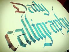 (Edu de Oliveira) Tags: typography calligraphy caligrafia