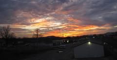 Lenox Mountain. (MTBradley) Tags: sunset panorama geotagged ma us unitedstates photomerge crepusculo pittsfield taconics lenoxmountain berkshirecounty puestodelsol lenoxmtn