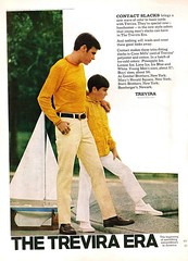 1968~TREVIRA SLACKS-CORDS~Model Sailboat-Ship~Father-Son~Men's Fashion~Print-Ad (oldsailro) Tags: park old boy sea summer people sun lake playing beach water pool girl sunshine youth sailboat race vintage children fun toy boat miniature wooden pond model waves sailing ship child time yacht antique group boom mat regatta hull spectators watercraft adolescence keel fashioned 1968~trevira slackscords~model sailboatship~fatherson~mens fashion~printad