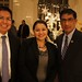Chief of Staff Sherrick Roanhorse, Washington Director Clara Pratte, and Governor-elect Greg Mendoza, Gila River Indian Community. NNWO reception. Nov. 29, 2011. Photo by Jared King / NNWO.  This Navajo Nation Washington Office photograph is being made available only for publication by news organizations and/or for personal use printing by the subject(s) of the photograph. The photograph may not be manipulated in any way and may not be used in commercial or political materials, advertisements, emails, products, promotions that in any way suggests approval or endorsement of Navajo Nation President Ben Shelly or Vice President Rex Lee Jim.