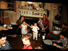 Family Christmas Eve 1958