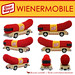 "LEGO Wienermobile • <a style=""font-size:0.8em;"" href=""http://www.flickr.com/photos/44124306864@N01/6446768875/"" target=""_blank"">View on Flickr</a>"