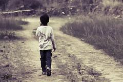 في زمرة الحياة أصطحب صديقي الدائم الأمل (عفاف المعيوف) Tags: طفل أمل طريق مسير