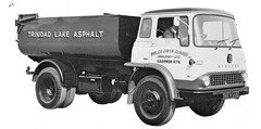 Trinidad lake Asphalt Bedford (Bournemouth 71B / 70F) Tags: road truck bedford cab transport goods lorry commercial vehicle trucks trailer chassis load carry articulated unit bodywork delivering haulage ridgid convey