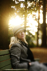 golden light (Liz Devine) Tags: park lensbaby portland michelle magichour