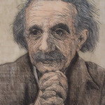 "<b>""Einstein""</b><br/> (Information in Progress)<a href=""//farm8.static.flickr.com/7025/6466815657_f352d7bacc_o.jpg"" title=""High res"">∝</a>"