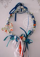 Pêndulo (mariafloratelier2) Tags: flores bird natal guirlanda borboleta lã