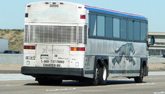 Old Grey Hound Bus (Photo Nut 2011) Tags: california greyhound bus freeway tnmocoaches