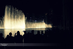 Dubai Fountain 2 (Belal Al-Kubaisy) Tags: tree art water fountain dance amazing nice dubai curve dubaimall burjkhalifa