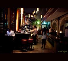 Two empty stool (Mel Mijares) Tags: bar night dinner canon 50mm chairs weekend acid mel explore 12 stool kaye ef engage cathie chiars sooc janmike