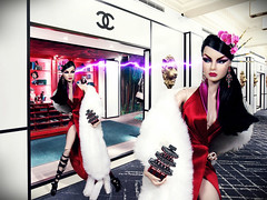 Challenge 10  The Adversary  (Paris In BKK) Tags: doll agnes diva fr jetset fashionroyalty silverzinger