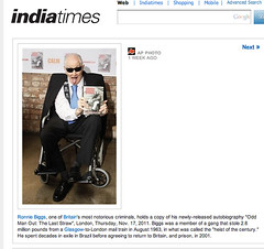 India Times (Ronnie Biggs The Album) Tags: ronnie biggs greattrainrobbery oddmanout ronniebiggs ronaldbiggs