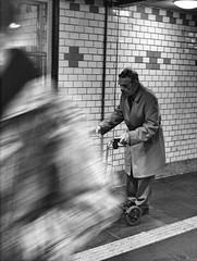 PB080644.tif (Sigfrid Lundberg) Tags: street portrait people man lund station skne sweden candid streetphotography railway railwaystation sverige rollator zm jrnvgsstation lundc lundscentralstation rollingwalker olympusep2 biogont2825 lundscentral 25mmf28zmbiogon