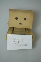 Love you Caroline  (Sweetie ) Tags: yotsuba danbo revoltech