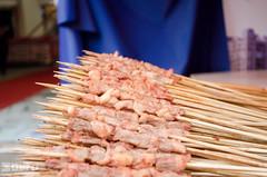 Meat on sticks (Aragh0rn) Tags: china food yummy chinesefood xiamen exoticfood