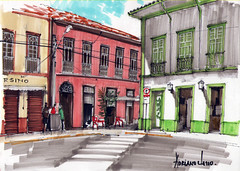 SketchPhoto São Luiz do Paraitinga (AdrianoMello) Tags: igreja markers casario gótica valedoparaiba sãoluizdoparaitinga hidrocor adrianomello