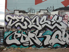 TELOS / PORK (Same $hit Different Day) Tags: graffiti bay south pork hcm